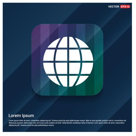 globe icon Çizim