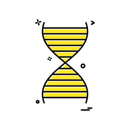dna icon vector design
