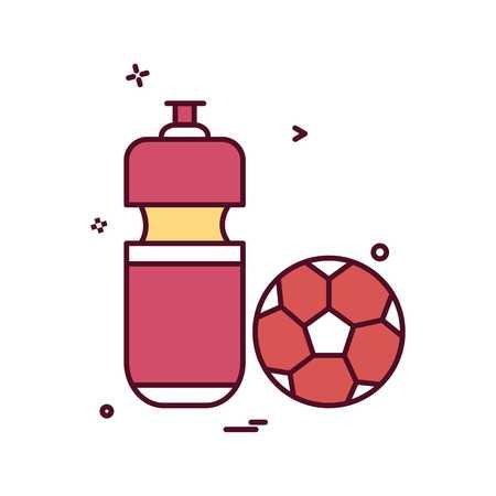 football icon vector design Stock Illustratie