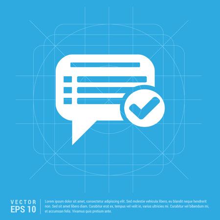 Ok Chat Speech Bubble