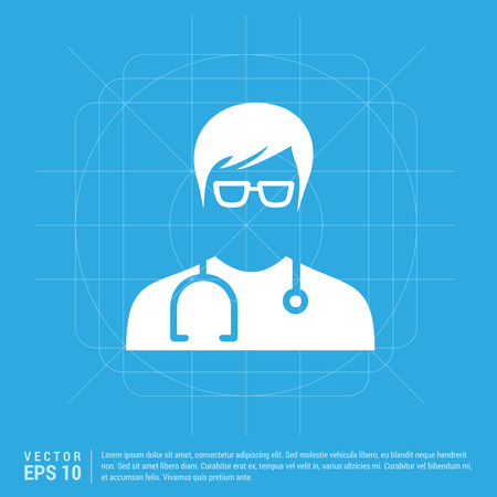 Medical user icon.