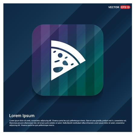 Classic pizza icon - Free vector icon