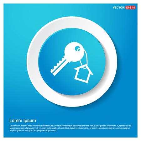 House key icon Illustration
