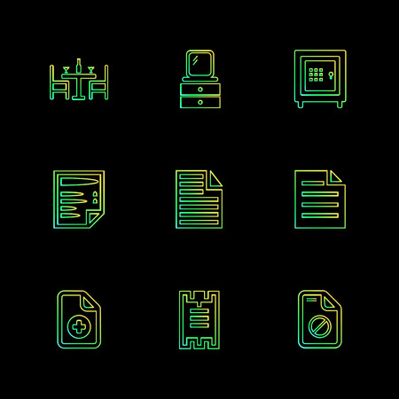 Files , document , clipboard ,write , lock , unlock , sim , globe , icon, vector, design,  flat,  collection, style, creative,  icons ,