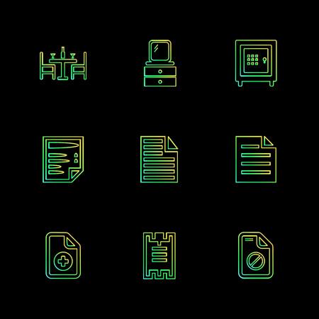 Files , document , clipboard ,write , lock , unlock , sim , globe , icon, vector, design,  flat,  collection, style, creative,  icons ,