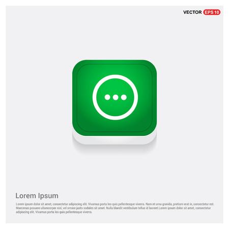icône de menuBouton Web Vert - Icône de vecteur gratuit