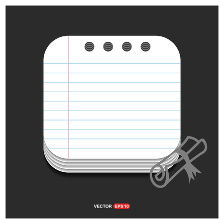 Scholarship stamp Icon - Free vector icon Vectores