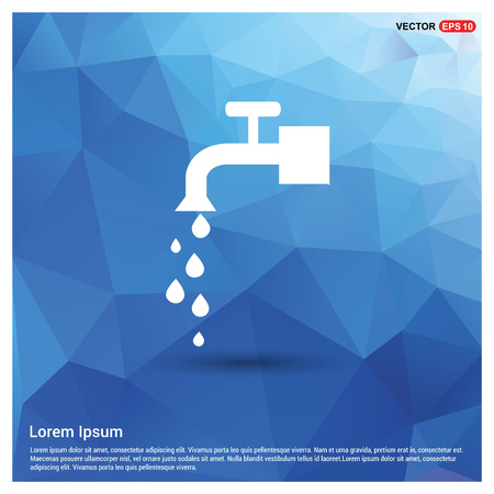 Water Tap Icon Vectores