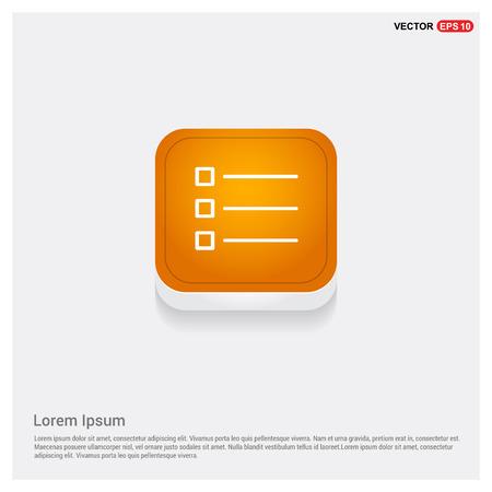 List Menu Icon