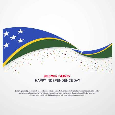 Solomon Islands Happy independence day Background