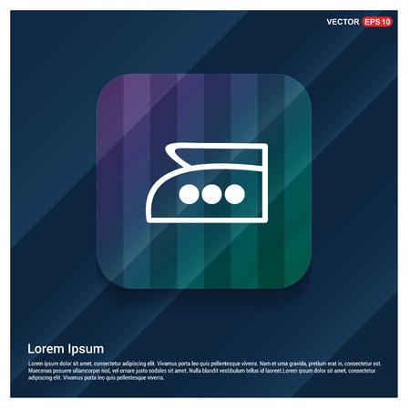 Laundry symbols icon - Free vector icon