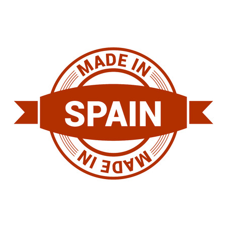 Spain stamp design vector 矢量图像