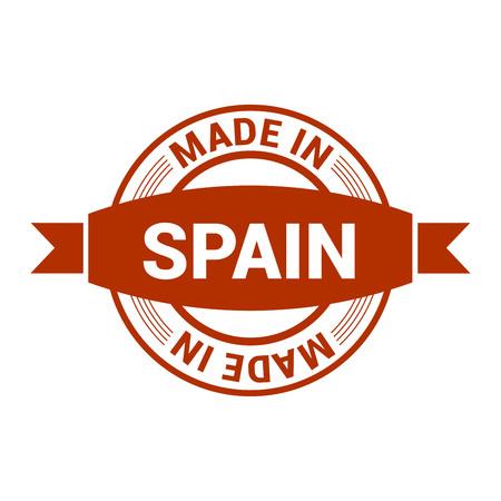 Spain stamp design vector Illustration
