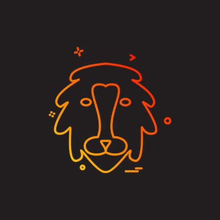 Animals icon design vector Illustration