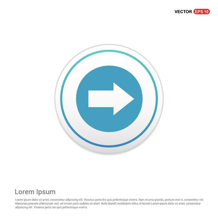 Next Arrow Icon - white circle button