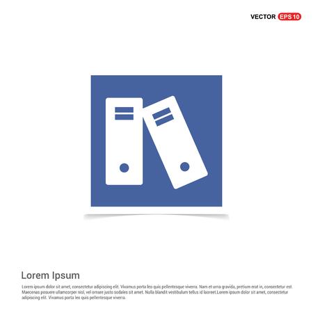 Computer icon - Blue photo Frame Ilustração