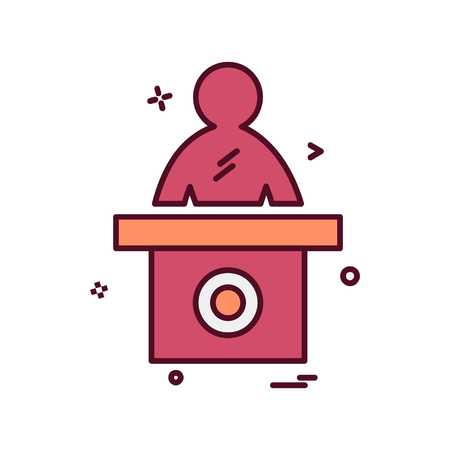 Reception icon design vector