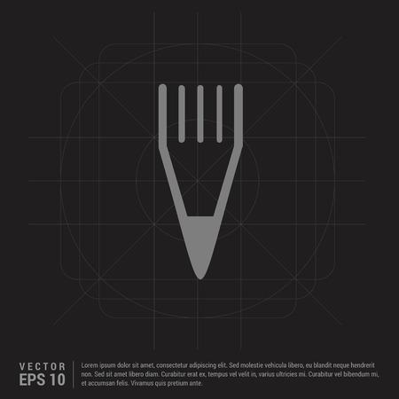 Edit, pencil icon - Black Creative Background - Free vector icon Ilustração