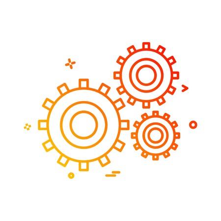 Labour tools icon design vector