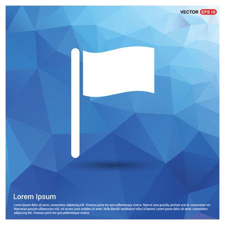 Flag icon Stock Vector - 118262020