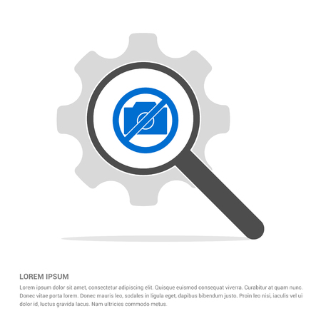 Photo not allowed icon - Free vector icon