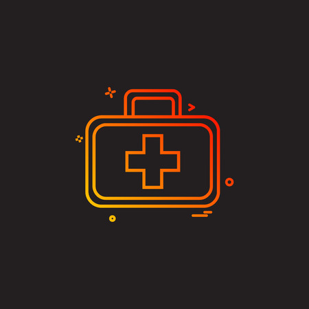Medical icon design vector Banque d'images - 110560783