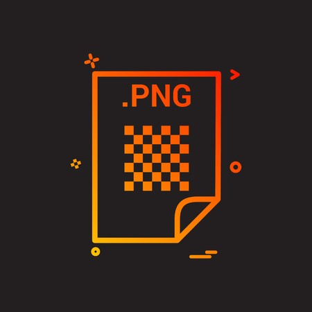 PNG application download file files format icon vector design