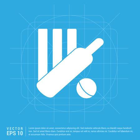 Cricket Bails Icon