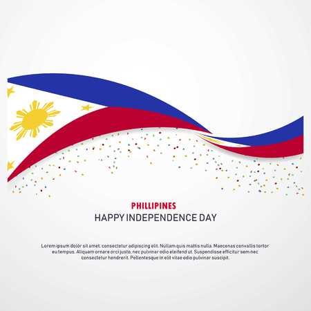Phillipines Happy independence day Background