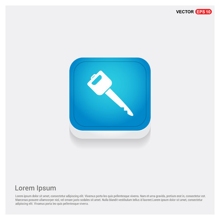 Icône de clé de voiture