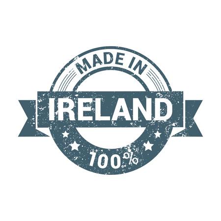 Ireland stamp design vector Vettoriali