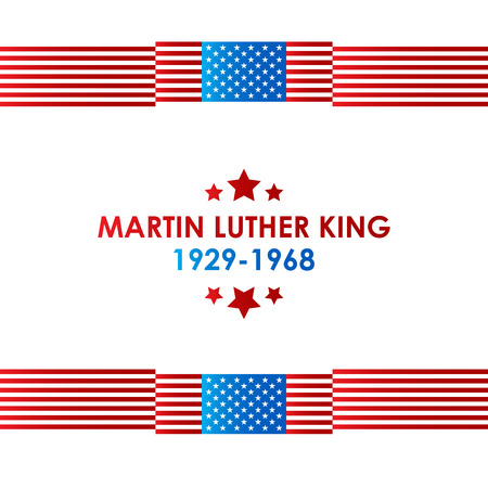 Happy Martin Luther King day design