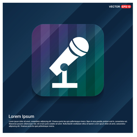 Microphone Icon 向量圖像