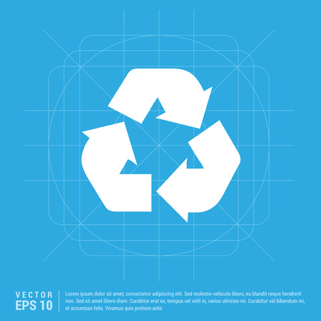 Recycle icon Banque d'images - 110634039