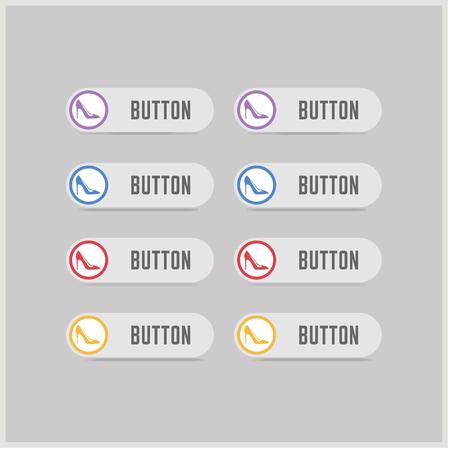 High-heels icon - Free vector icon