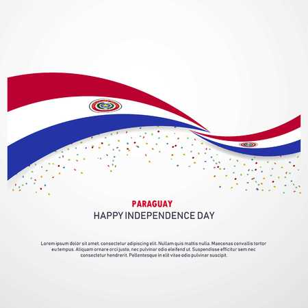 Paraguay Happy independence day Background