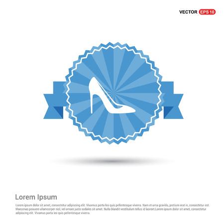 High-heels icon Vetores