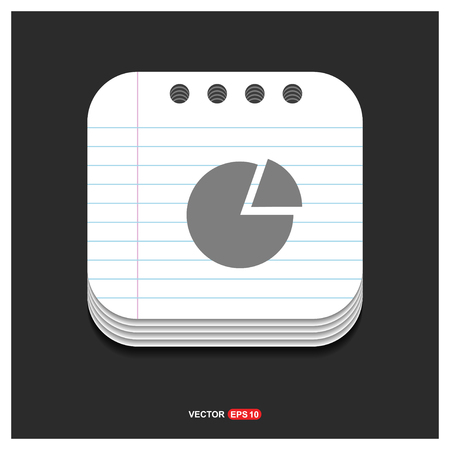 Pie chart - Free vector icon