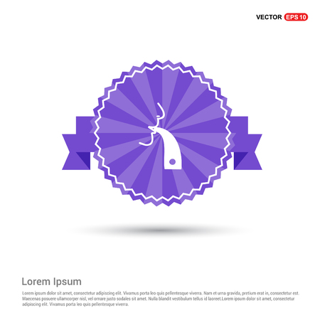 inhaler icon - Purple Ribbon banner
