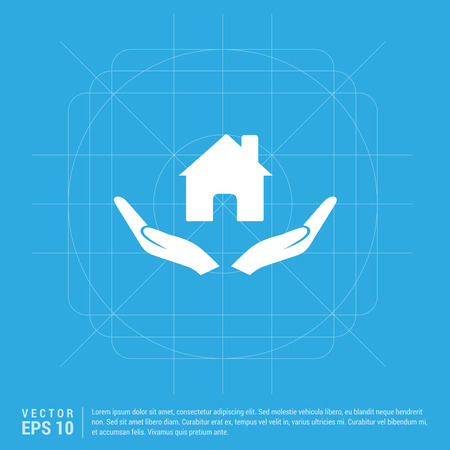 House security concept icon Standard-Bild - 118272091