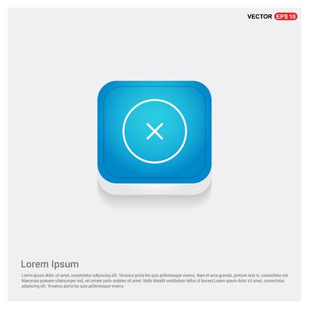 Close, Cancel or Delete Icon