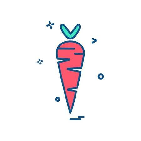 Vegetables icon design vector