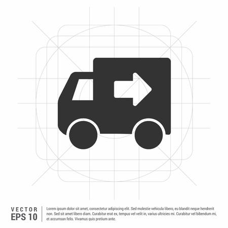Truck icon Ilustração