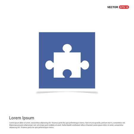 Network icon - Blue photo Frame
