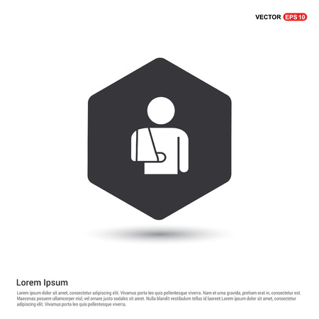 patient, icon Stock Vector - 118273822