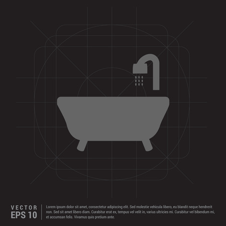 Bath Tub Icon