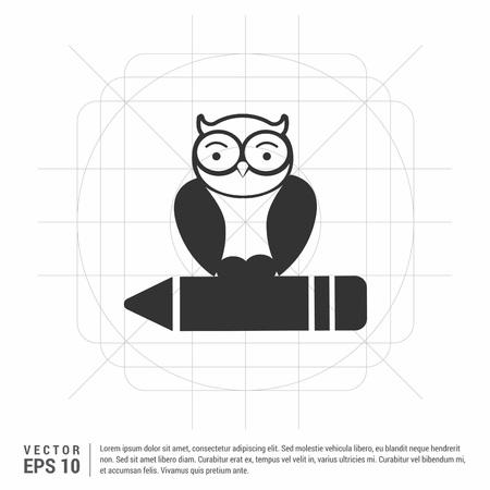 Owl Icon Ilustração