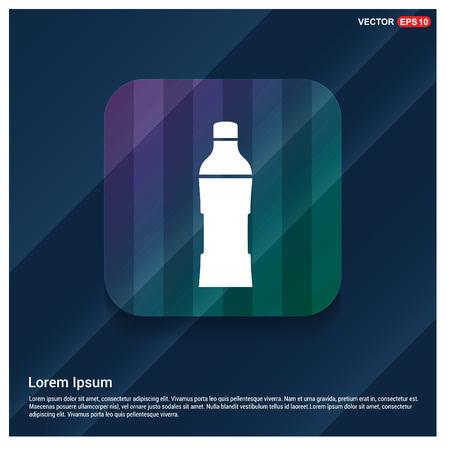 Soda drink bottle icon