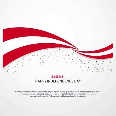 Austria Happy independence day Background