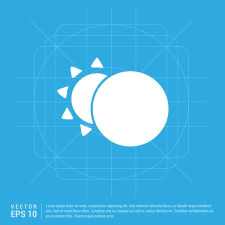 Sun, Moon Icon